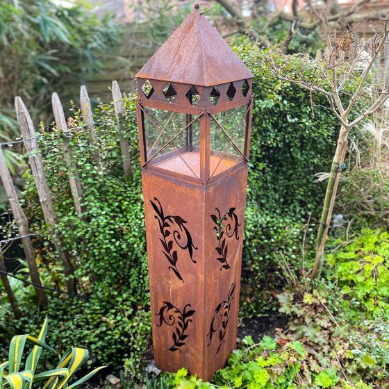 Laterne Garten Eden, Edelrost, 135 cm | #4