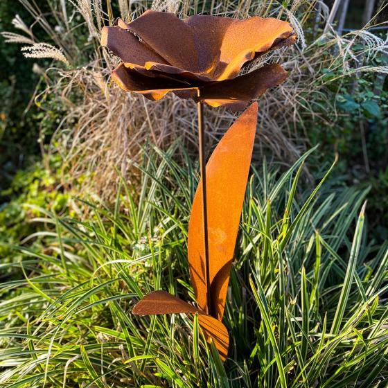 Beetstecker Blumenblüte, Edelrost | #4