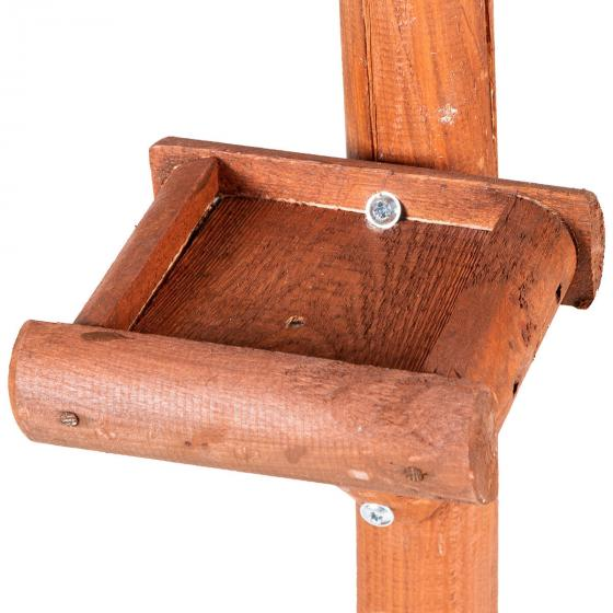 Vogelfutterhaus Paul, mit Ständer, Holz | #4