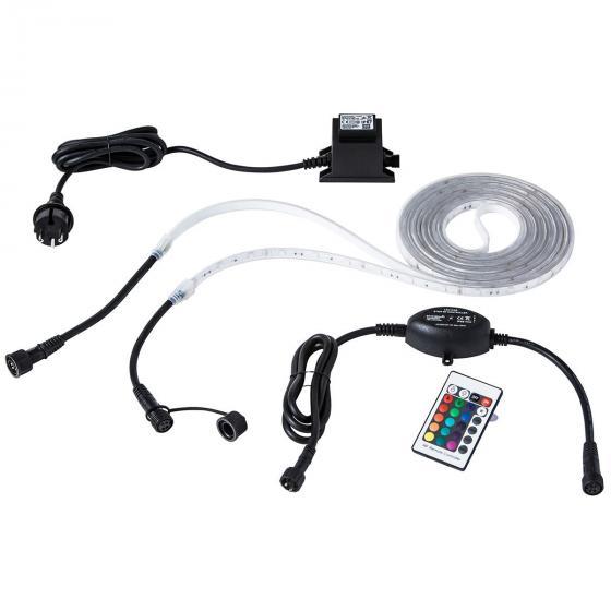 Unterwasser-LED-Band, 5m, mit Transformator und RGB-Controller | #4