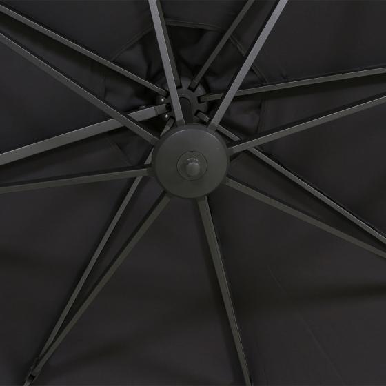 Ampelschirm California, 350 cm, anthrazit | #4