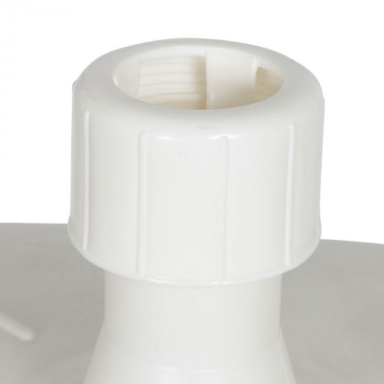 Schirmständer für Schirmstöcke 35-55 mm, 50l, mit Rolle, befüllbar, Weiß | #4