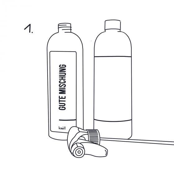 Mischflasche Gute Mischung, für Konzentrate, 750 ml | #4