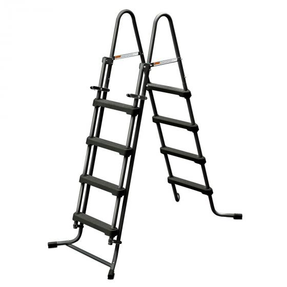 Stahlrahmenpool 488 x 122cm, mit Leiter, Filterpumpe, Abdeckung und Zubehör | #4