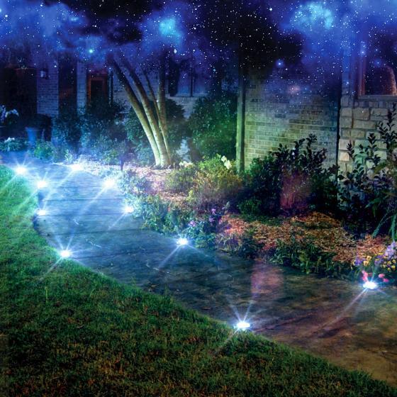 Disk Light Stone Gartenbeleuchtung, Solar, 4er Set | #4