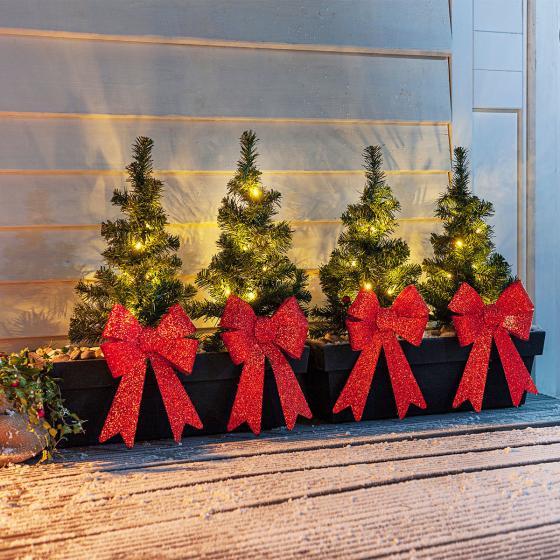 Lichter-Weihnachtsbäumchen, 4er Set | #4