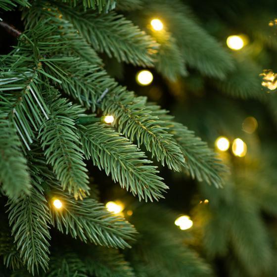 Künstlicher Weihnachtsbaum Kiefer mit LED-Beleuchtung, 150 cm | #4