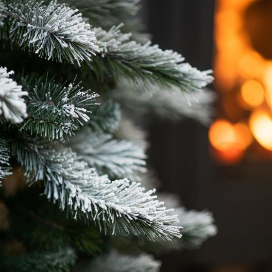 Künstlicher Weihnachtsbaum Kiefer mit Schneeoptik, 150 cm   #4
