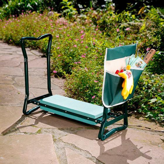 Sitz- und Kniestuhl inkl. Werkzeugtasche | #4