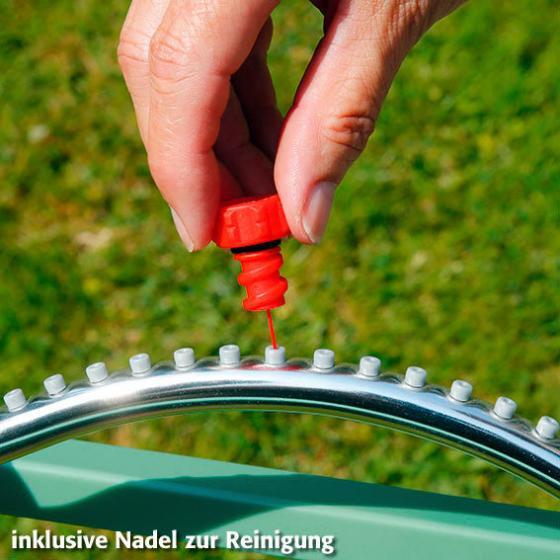 Garten-Viereckregner inkl. Wassertimer | #4