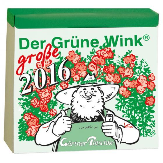 Bewässerungs-Schildkröte Paula Panza & Kalender der Grüne Wink 2016 | #4