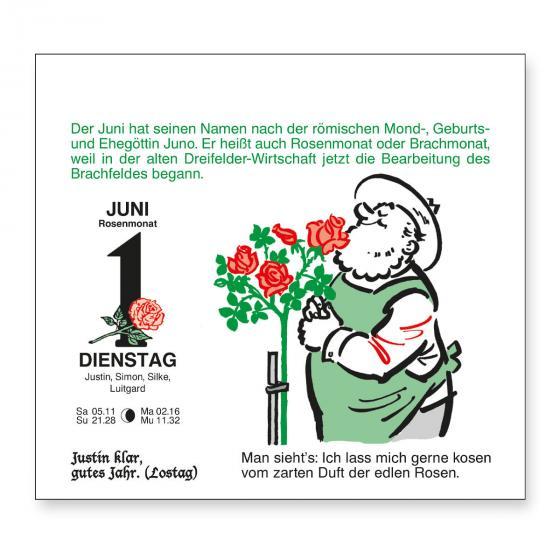 Tages-Garten-Kalender Der Grüne Wink® | #4