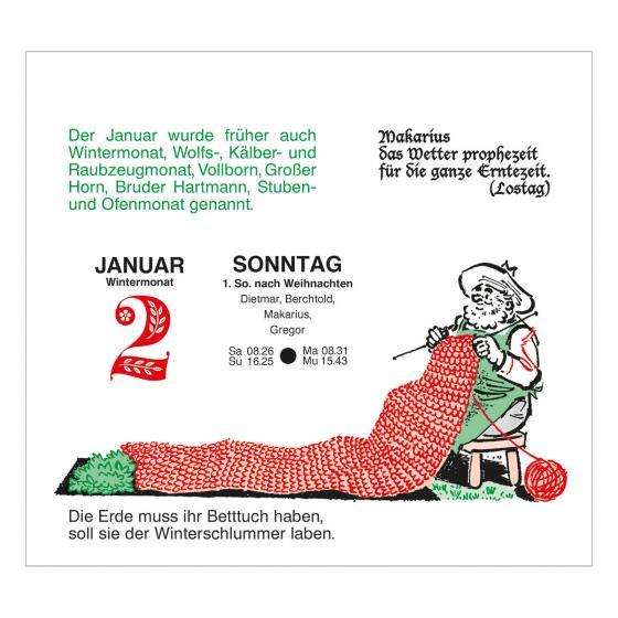 Abreißkalender Der große Grüne Wink®   #4