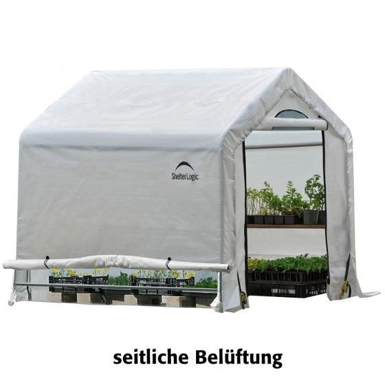ShelterLogic Folien-Gewächshaus 3,24m² inkl. Sturmanker | #5