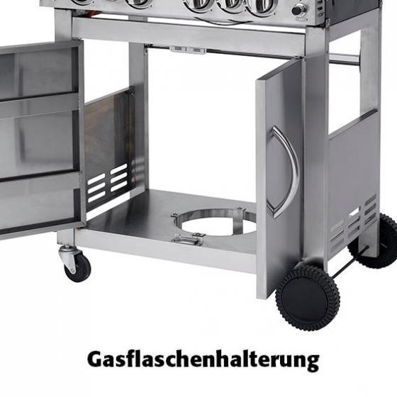 Gasgrill Keansburg, 4-Brenner, Seitenkocher, Horizontalbrenner | #5