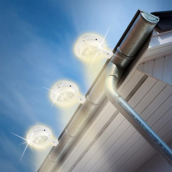 Solarzauber Dachrinnen-Leuchten, 3er-Set | #5