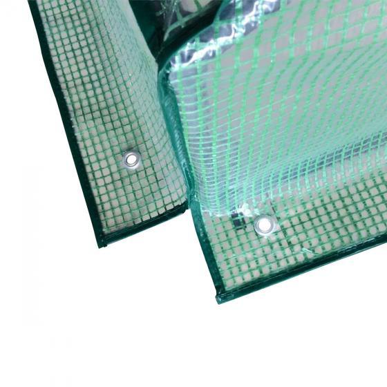 Folien-Frühbeet, Kunststoff, 120x120x60 cm | #5