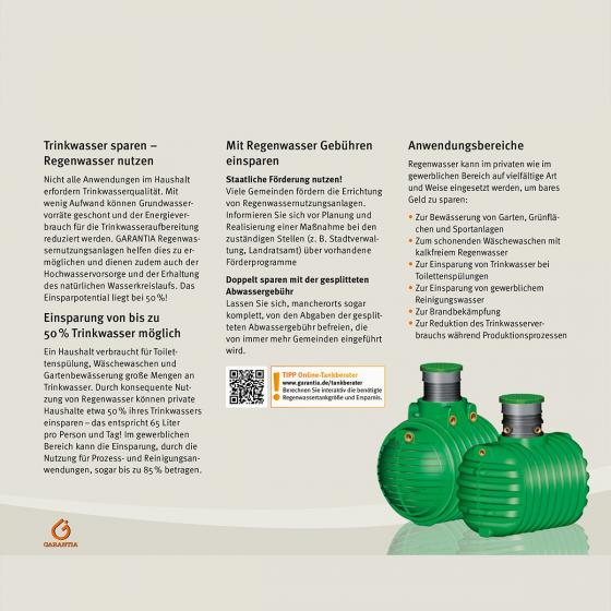 GARANTIA Erdtank Cristall Komplettpaket 1600 Liter | #5
