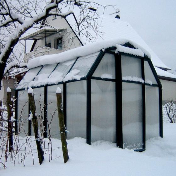 Gewächshaus Grand Gardener 410 mit Fundamentrahmen | #5