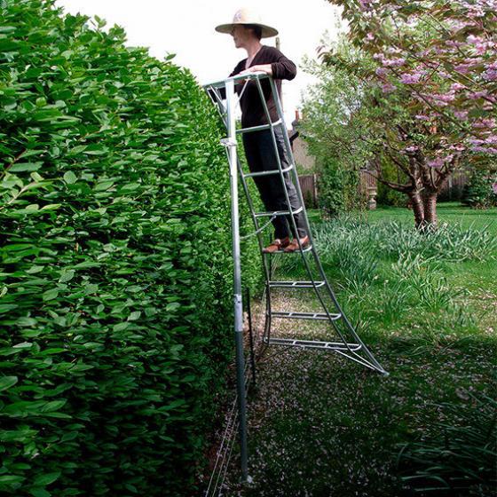 NIWAKI 3-Holm-Gartenleiter 180 cm | #5