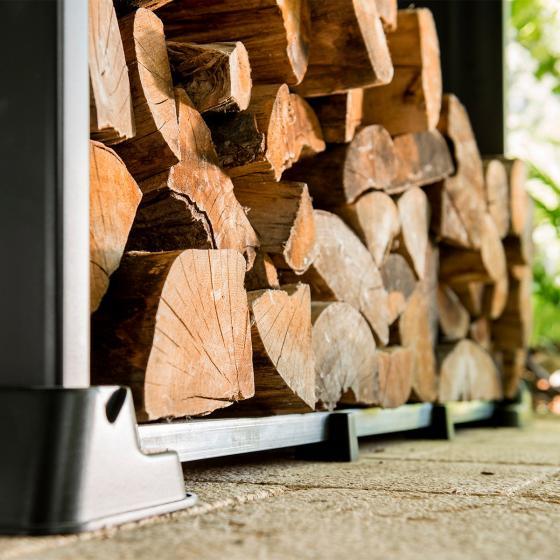 Firewood Shelter Kaminholzregal | #5