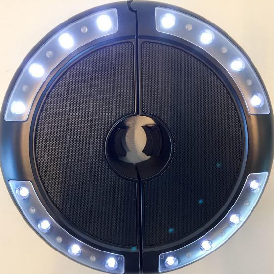 Schirm-Beleuchtung Luna mit Lautsprecher | #5