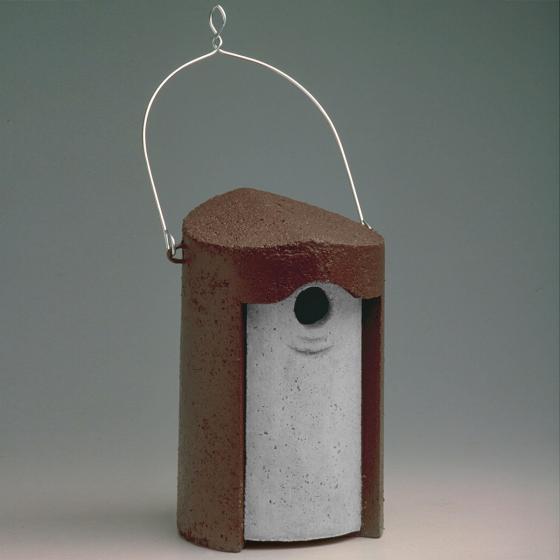 SCHWEGLER Nisthöhle 1B 32mm, 18 x 17 x 26 cm, Holzbeton, braun | #5