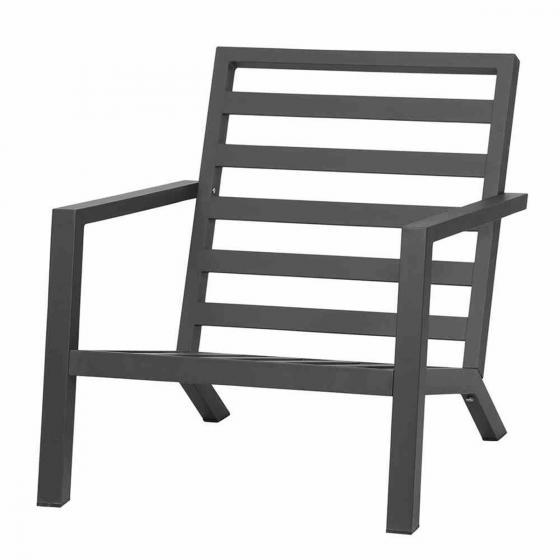 Lounge-Sessel Belia, 81x79x91 cm, Aluminium, anthrazit | #5
