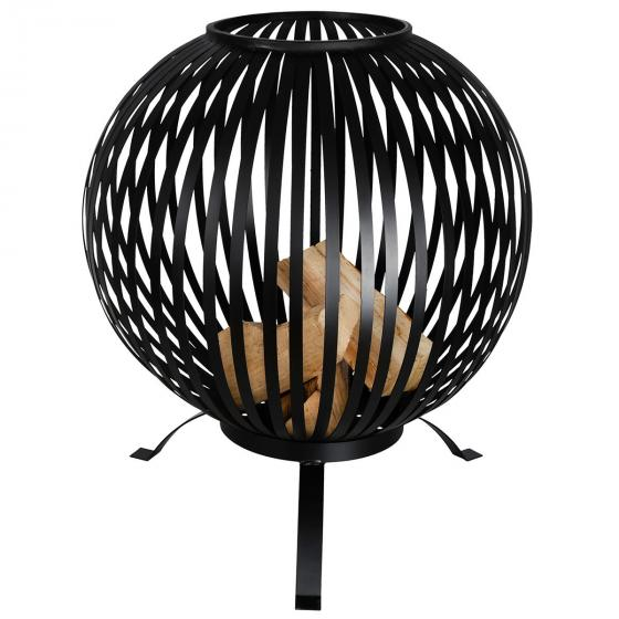Feuerball Starlight, 74x59x59 cm, Karbonstahl, schwarz | #5