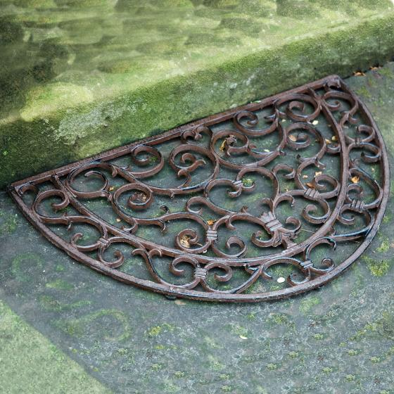 Fußmatte Viktoria, 2,3x40x69 cm, Gusseisen, braun | #5