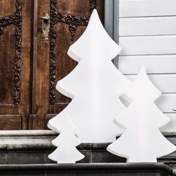 8 Season LED Shining Tree, 39x28x10 cm, Polyethylen, weiß | #5