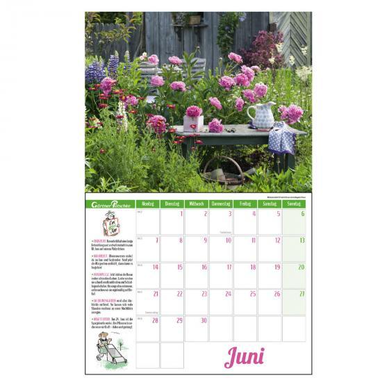 Gartenkalender mit 2 Blechschildern | #5