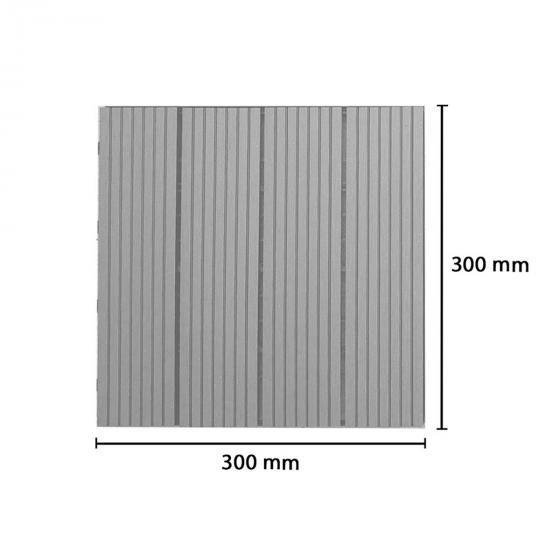 WPC Holzfliesen anthrazit 1m² | #5