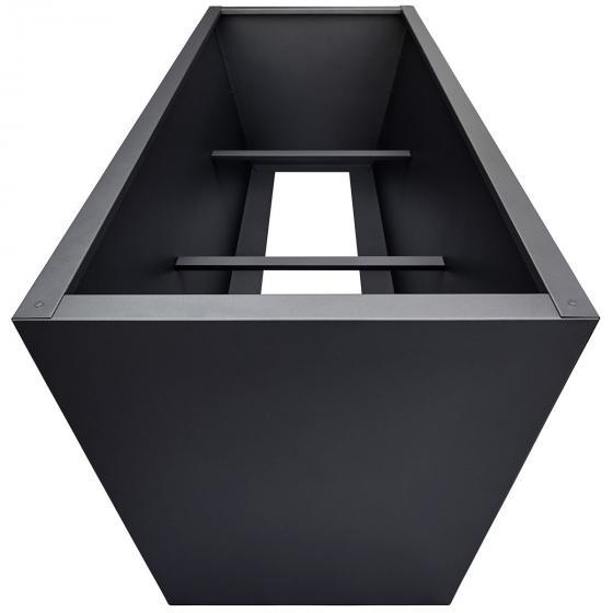 Hochbeet Valenta, Aluminium, antrhazit, ca. 200 cm | #5