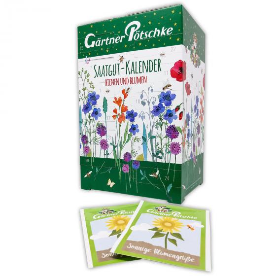 Saatgut-Adventskalender Bienen & Blumen   #5