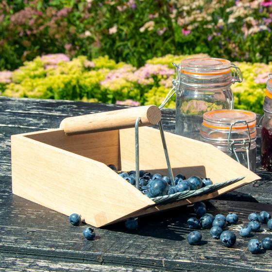 Beerenpflücker Ernteglück, Buchenholz | #5