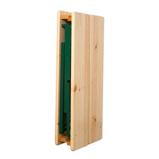 Festzeltgarnitur mit Rückenlehnen, 3teilig, 110 cm | #5