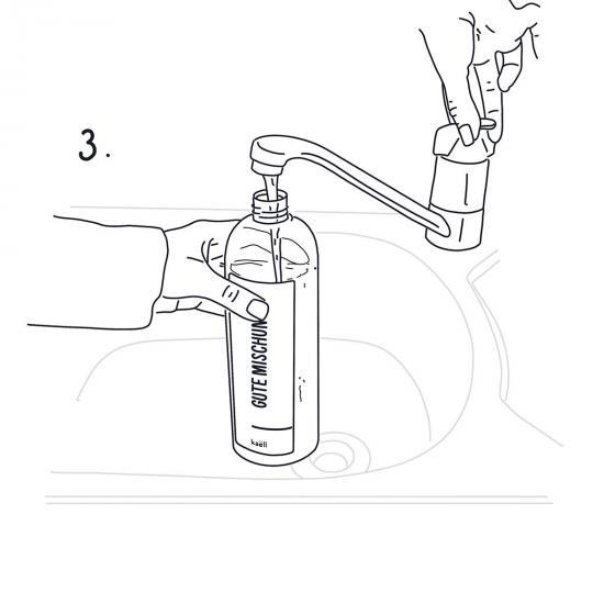Mischflasche Gute Mischung, für Konzentrate, 750 ml | #5