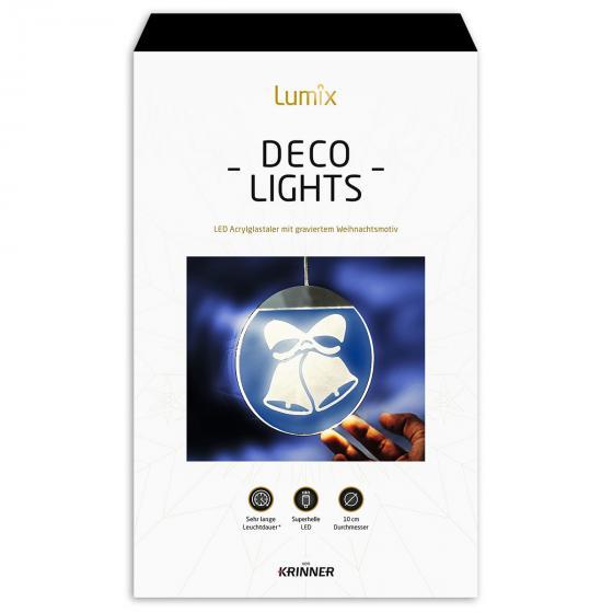 Deko-Lights Glocken, silber, Ø 10 cm | #5