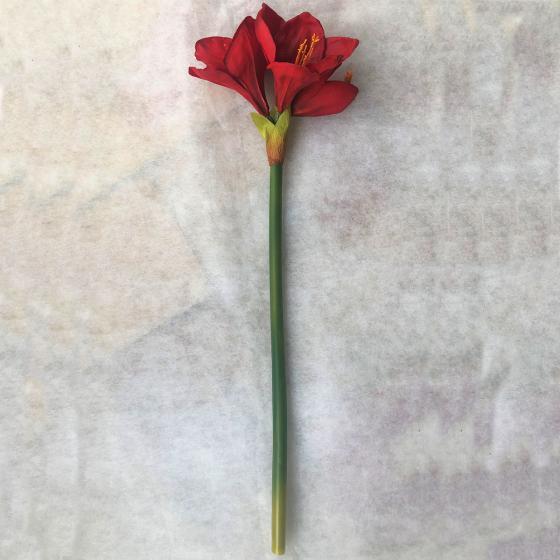 Kunstpflanze Amaryllis, rot   #5