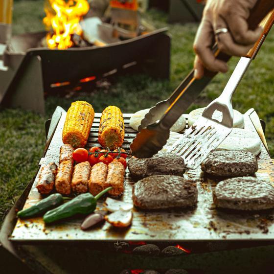 2in1 Grill & Feuerschale Fuego, Edelstahl | #5