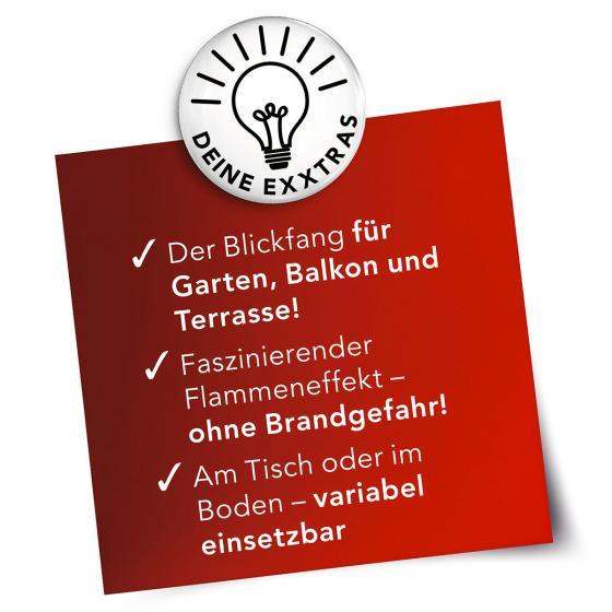 Solar-Fackel 2er-Set mit Erdspieß, Schwarz | #5