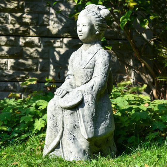 Garten-Steinfigur Geisha | #5