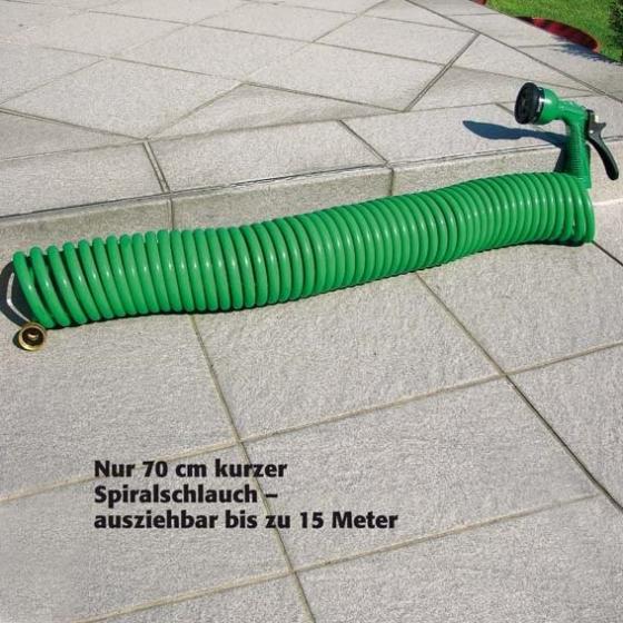 Flexi-Spiralschlauch mit Handbrause | #5