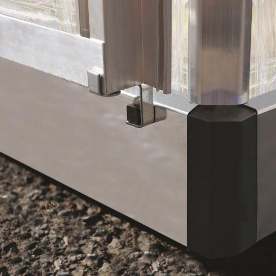 Gewächshaus Silver Line 6 x 4 inkl. Stahlfundament | #5