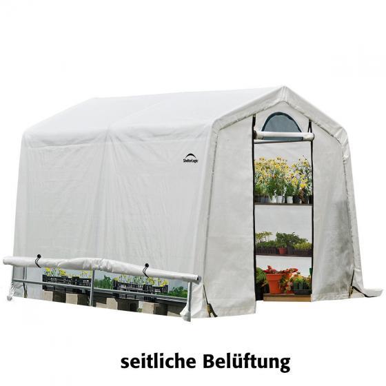 ShelterLogic Folien-Gewächshaus 5,76m² inkl. Sturmanker | #6
