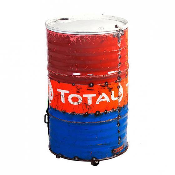 Eiskühler Tonne, Unikat aus recycelten Ölfässern | #6