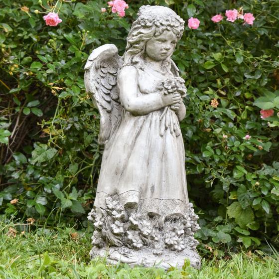 Gartenfigur Blumenengel Fiona | #6