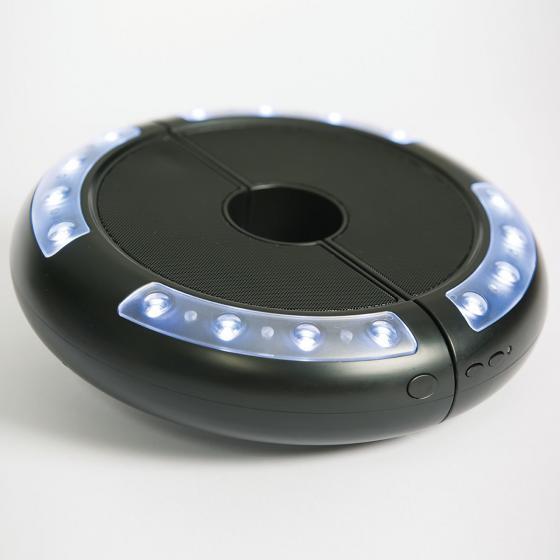 Schirm-Beleuchtung Luna mit Lautsprecher | #6