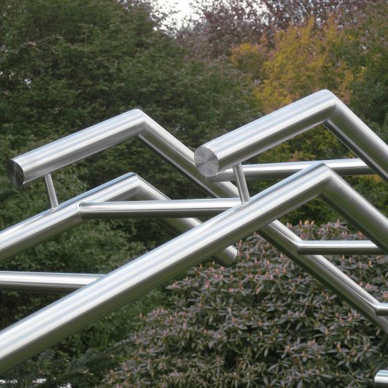 Edelstahl-Rosenbogen Home | #6